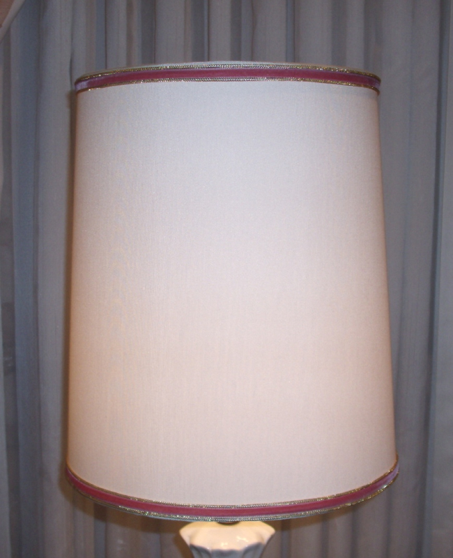 lampshade, styrene, drum, small, replace, restore