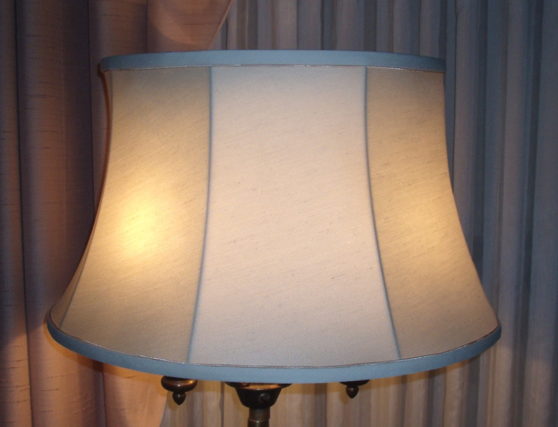 2014 lampshade restoration projects for Floor lamp with different color shades