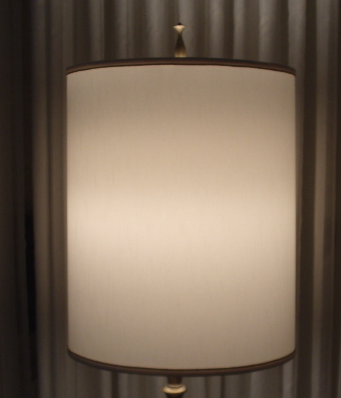 lampshade, styrene, replace, recover, restore, drum, shade