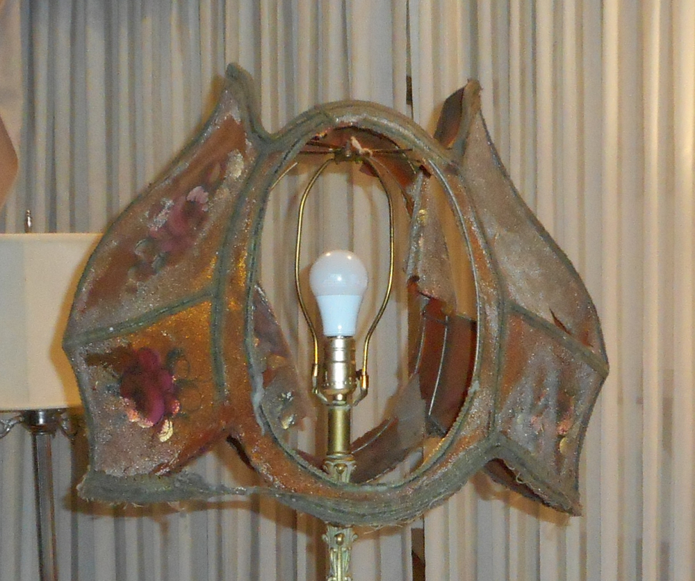 lampshade, historic, vintage, clean, sweep, shade