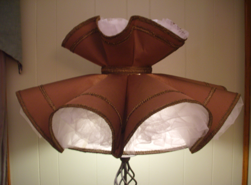 Early American Style Lamp Shades Lamp Decorating Ideas