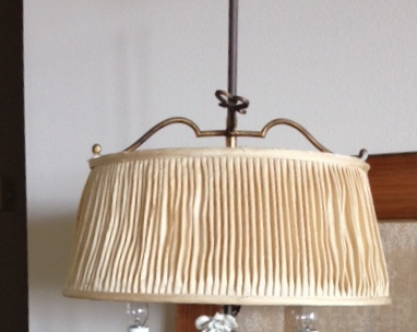 lampshade, pleated, adjustable, replace, liner, repair
