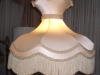 lampshade, victorian, crown, vintage, fringe, restore, recover, shade