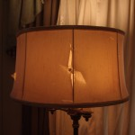 Floor Lamp Fabric Drum Lampshade Repairs