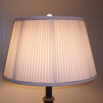 lamp, lampshade, pleated, liner, repair