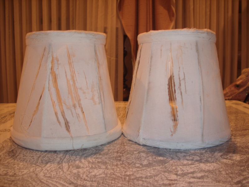 Antique Candlelight Lampshade Repair Cleveland Ohio
