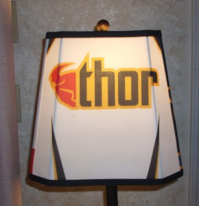 lampshade, motocross, thor, jersey, sport, shade