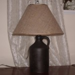 lampshade, burlap, a-frame, replace, shade
