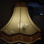 lampshade, victorian, vintage, fringe, shade, recover, repair, restore