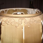 lampshade, bell, vintage, restore, repair, recover shade