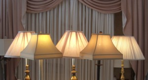 lampshade, liners, replaced, restored