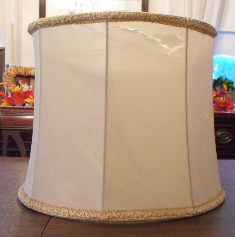 Vintage Drum Original Shade Lamp Shade