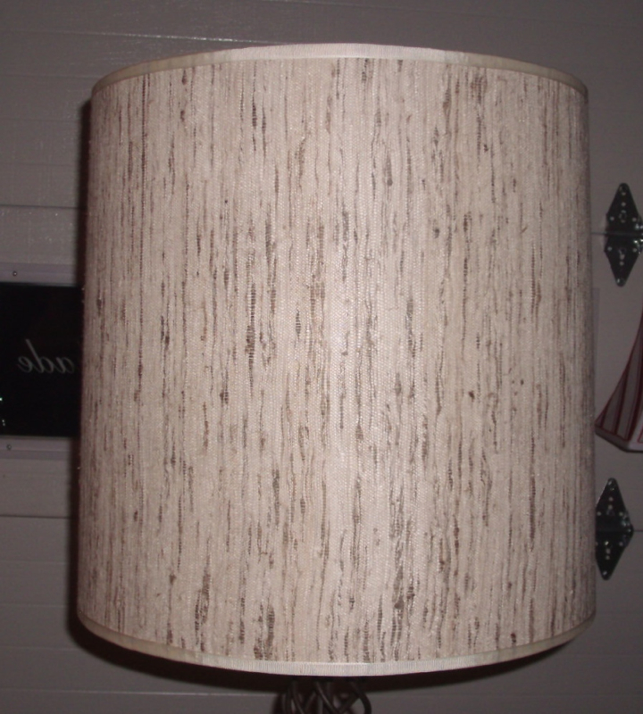 Lamp shade raw silk restore vintage recover aloadofball Images