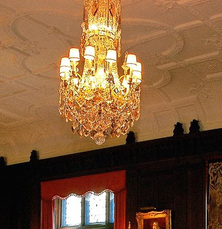 Stan Hywet Music Room, akron, ohio, historic, estate, restore project